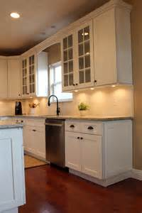 Kitchen remodel powell ice white shaker kitchen cabinets columbus oh