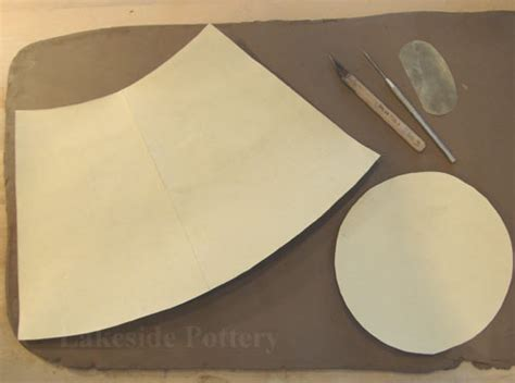 template for a set of pottery mugs made out of heavy