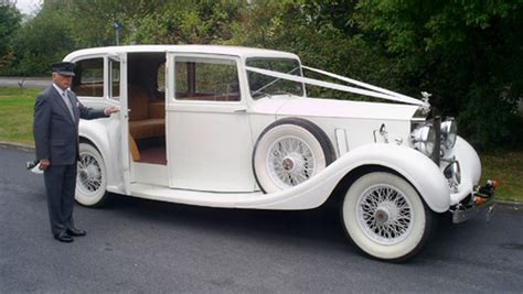 rolls royce vintage phantom 1930 s rolls royce vintage wedding car hire in winchester