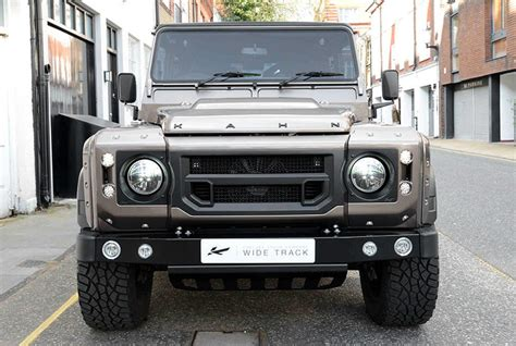 kahn land rover defender 110 urban cool kahn design defender 110 wide track