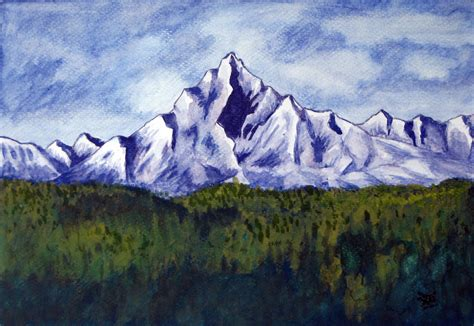 paintings of mountains www pixshark images galleries with a bite
