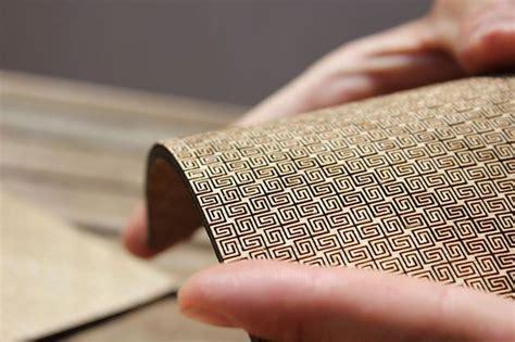 design patterns for flexible manufacturing super flexible double curvature surface laser cut