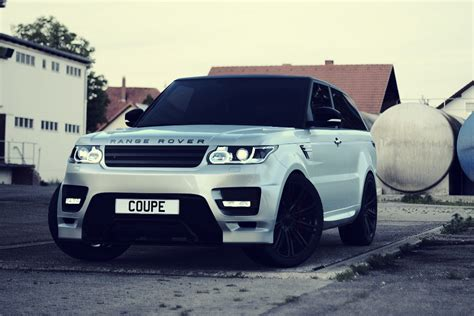 modified range rover heavily modified range rover sport coupe revealed auto