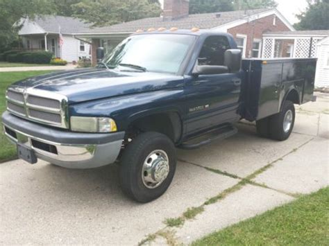 dodge ram 3500 truck bed for sale sell used 2001 dodge ram 3500 dually rear wheels utility