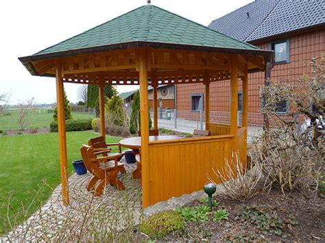 8 Eck Pavillon by Schliephake Rustikale Gartenm 246 Bel Und Pavillons 8 Eck