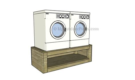 Washer And Dryer Pedestal Plans washer dryer pedestal plans free outdoor plans diy shed wooden playhouse bbq woodworking