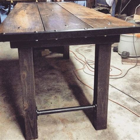 furniture industrial dining table 79 best metal and wood pipe and and more images on