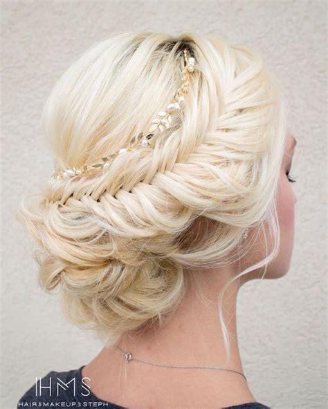 braided down dos 25 best ideas about fishtail wedding hair on pinterest