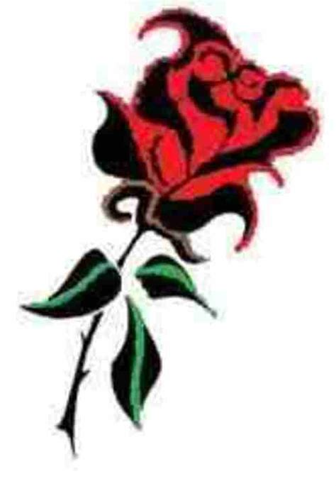 rose tribal tattoo clipart best
