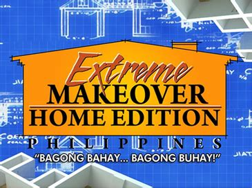 home makeover shows extreme makeover home edition philippines wikipedia