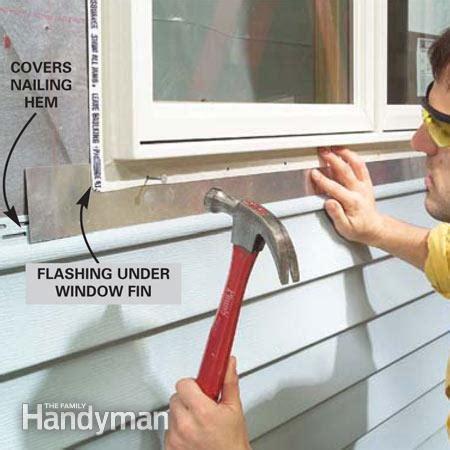 Bow Window Roof Framing how to install vinyl siding the family handyman