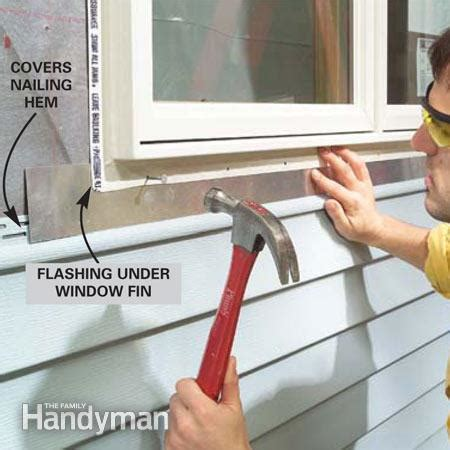 how to install flexible j channel how to install vinyl siding the family handyman