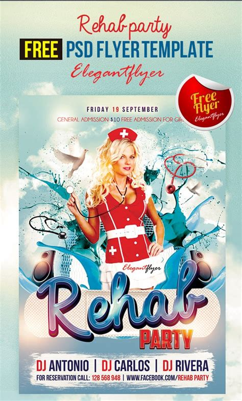 90 Awesome Free Flyer Templates Psd Flyer Templates Free Psd