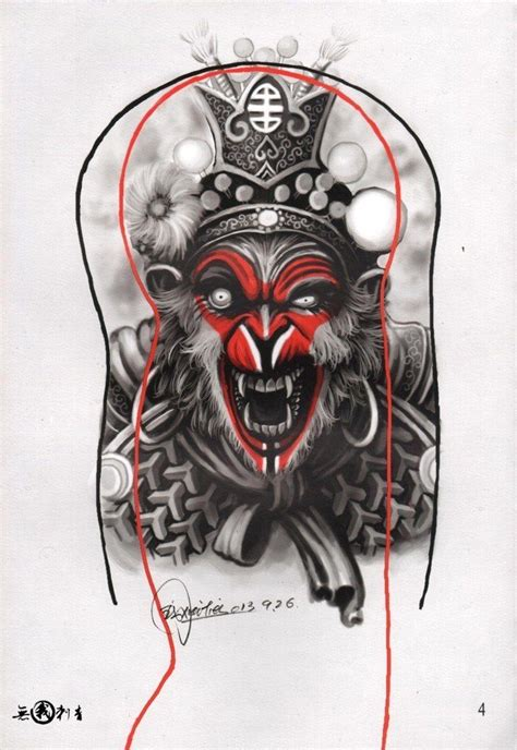 chinese monkey tattoo designs 115 best images about japanese on