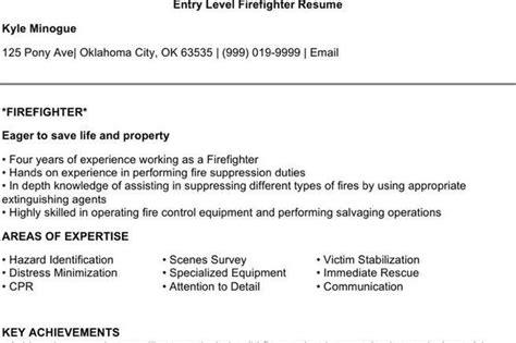 firefighter resume templates free premium