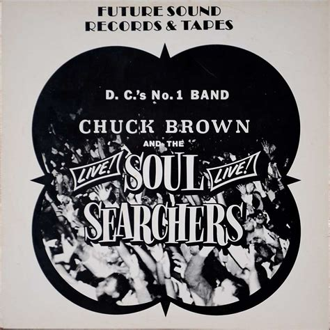 chuck brown and the soul searchers live by chuck brown and the soul searchers lp with