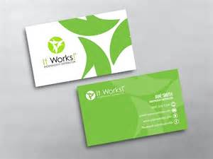 it business cards it works business cards free shipping