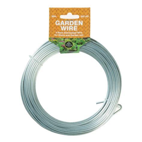 Gardening Wire 20m Garden Wire 2 5mm Galvanised