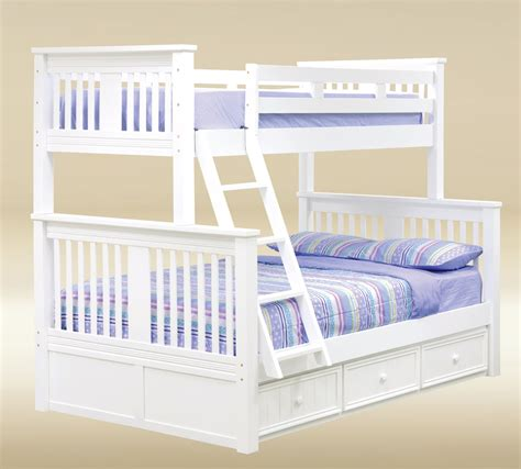 white bunk bed twin over full gary mission white twin over full bunk bed orange county ca