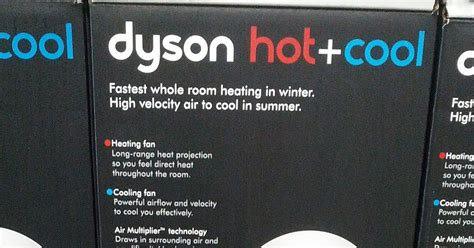 dyson and cool fan costco dyson cool am05 bladeless heater and fan costco
