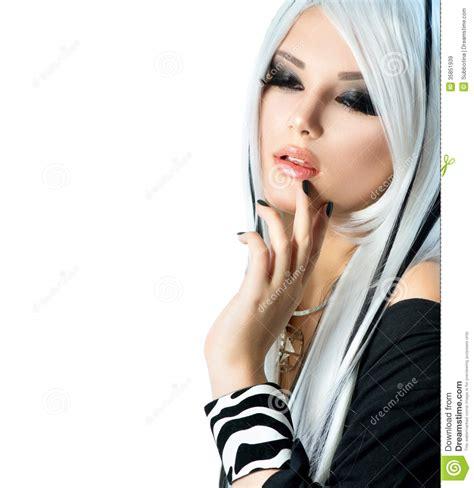 0007232799 black girl white girl beauty fashion girl stock image image of close colour