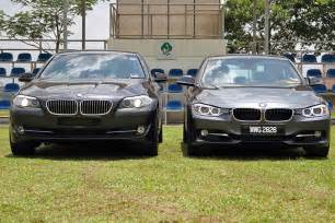 comparison 2012 bmw f10 5 series vs f30 3 series bmw post