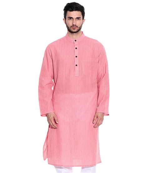 design house kurta online design house nice pink white long full sleeve kurta for men buy design house nice pink