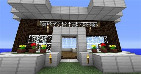 modern studio house gnubhunter inspired minecraft project modern house with recording studio minecraft project
