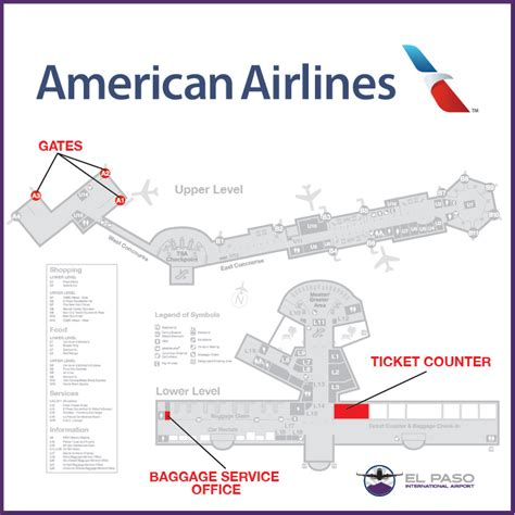 chicago airport map american airlines maps update 720502 southwest airlines travel map