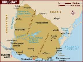 capital uruguay map