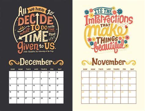 calendar design quote 2016 calendars set plan and achieve how design