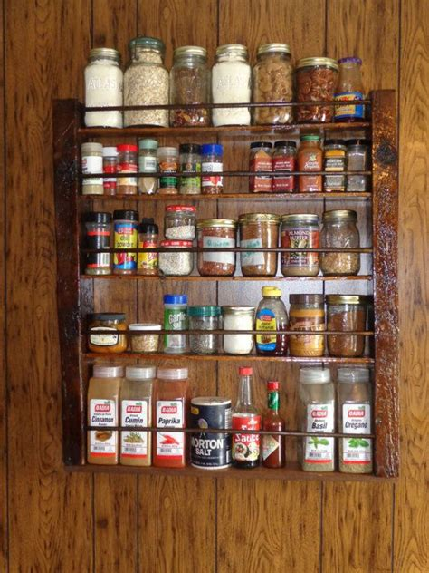 large spice racks old barn wood projects pinterest rachael edwards