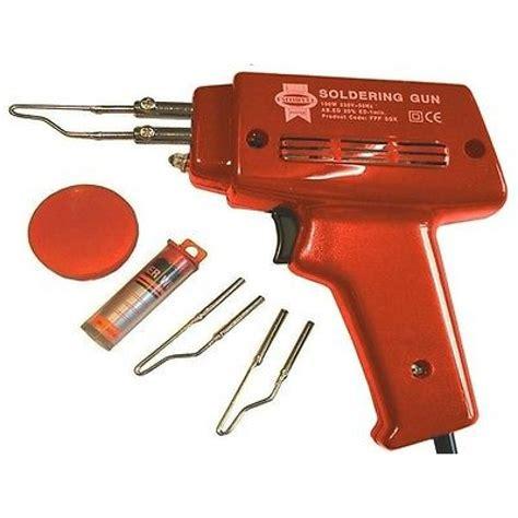 Solder Model Pistol Tembak Dekko heavy duty fast heat electric electrical soldering gun kit 100w solder 240v t36 click