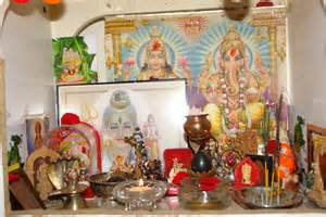 Decorate Mandir At Home file hindu home temple jpg wikimedia commons