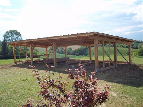 hangar bois agricole hangar agricole abribois31 constructions bois