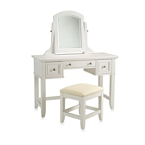 white vanity bench buy home styles naples white vanity bench from bed bath beyond