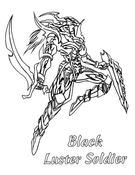 coloring page yu gi oh coloring pages 72