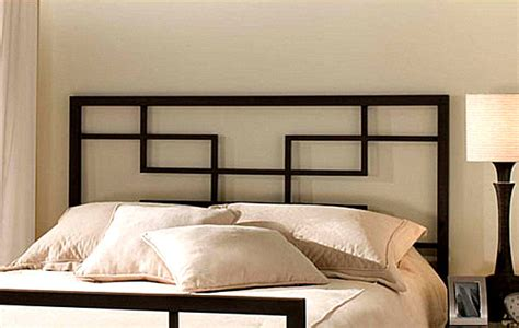 contemporary headboards a modern metal headboard decoist