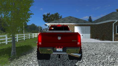 cummins pickup bed log truck for fs15 farming simulator 2011 dodge ram 3500 v1 3 modhub us