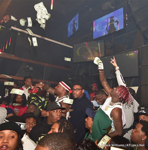 celebrity hot spots atlanta celebrity hot spots atlanta big bank black no cap party at