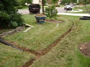 french drain sprinklers oklahoma city edmond norman sprinkler