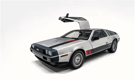 Hotwheels Delorean Dmc 12 recreating the wheels delorean northwest auto salon