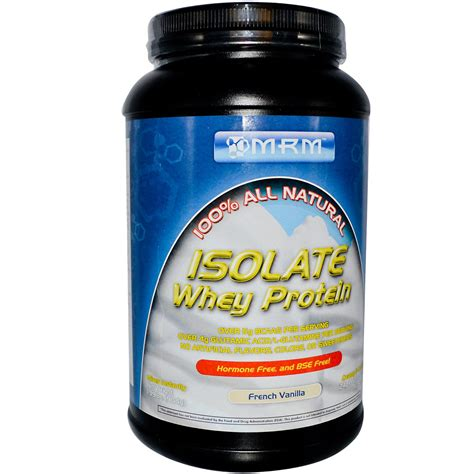 Whey Protein Mrm Isolate Whey Protein Vanilla 1 99 Lbs 904g
