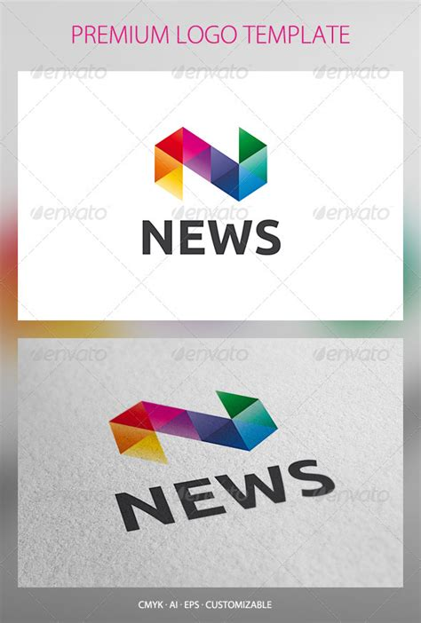 news logo template news logo template graphicriver