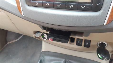 Fortuner One Original how to remove toyota fortuner radio