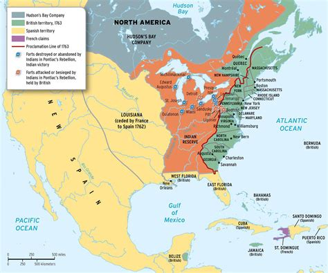america map of 1763 chapter 6