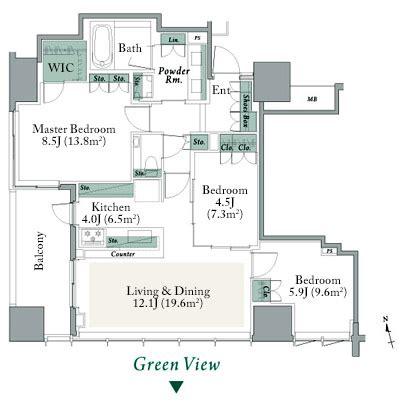 Takashimaya Floor Plan the parkhouse shinjuku gyoen japan property central