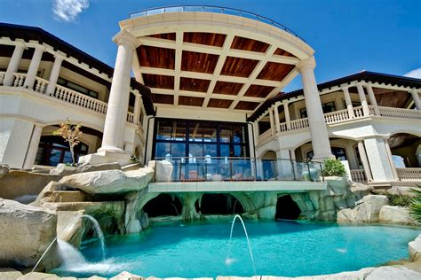 home pool grand cayman luxury home with grotto pools idesignarch interior design architecture