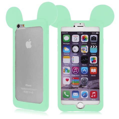 funda bumper iphone 5s bumper funda carcasa silicona mickey mouse orejas cover