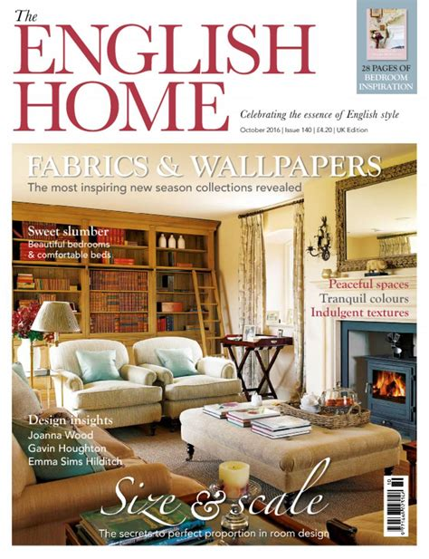 British Home Design Magazines by The English Home Magazine Bringing England Home